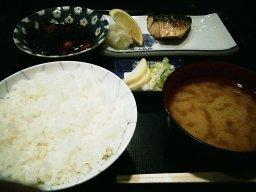 鯖塩焼定食