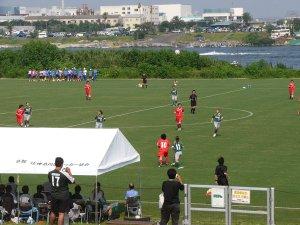 馬入サッカー場オープニング記念試合