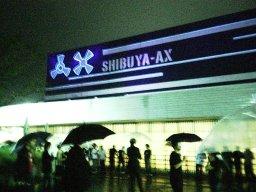雨のShibuya-AX