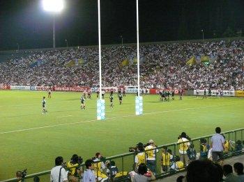 ラグビー日本代表壮行試合