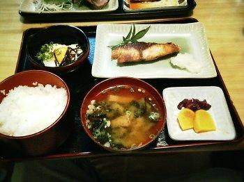 焼き魚定食(カンパチ)