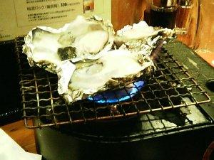 焼き牡蠣@天狗