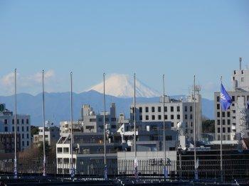 元日の富士山
