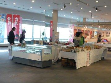 福島物産販売コーナー