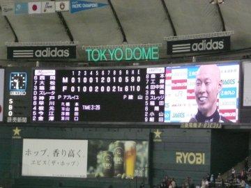 森本稀哲ヒーローインタビュー