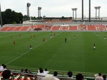 高校総体サッカー・帯広北−青森山田