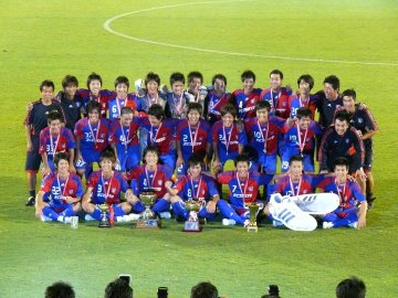 FC東京U-18が優勝!