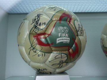 日本女子代表ボール