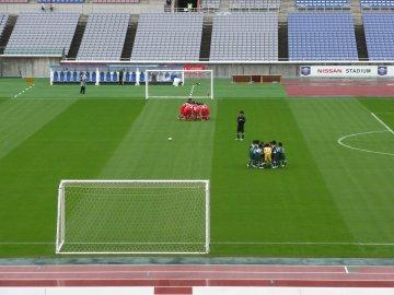 前座試合・横須賀シーガルズFC-FC明浜