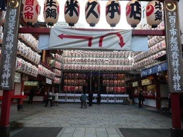 鷲神社(朝)