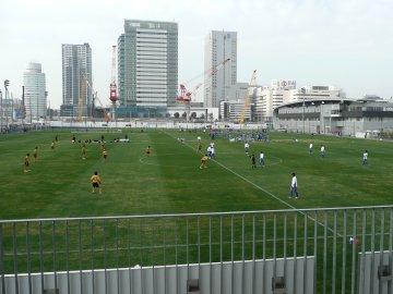 練習試合 横浜F・マリノスvs東海大学