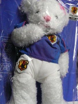 サッカー日本代表マスコットベア2008