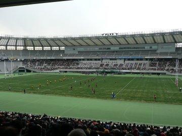 [ラグビートップリーグ]サントリー−東芝@味スタ