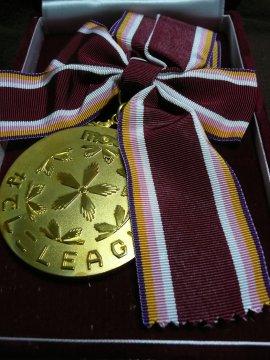 2007なでしこリーグ優勝メダル