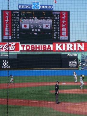日本 5-2 韓国(8回裏)