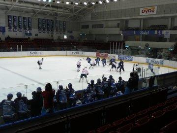 [アイスホッケー]SEIBUプリンセスラビッツ−東京都中学生選抜