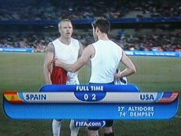 SPAIN - USA