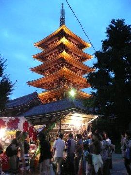 浅草寺・五重塔