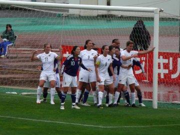 [親善試合]なでしこジャパン−ニュージーランド女子代表@駒場