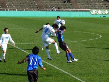[関東大学サッカー]国士舘大学−神奈川大学@西が丘