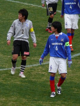 横山卓郎(大分)・中田航平(横浜FM)