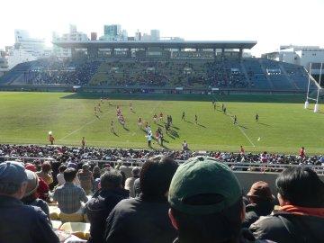 [ラグビートップリーグワイルドカードファイナル]神戸製鋼−コカ・コーラウエスト@秩父宮