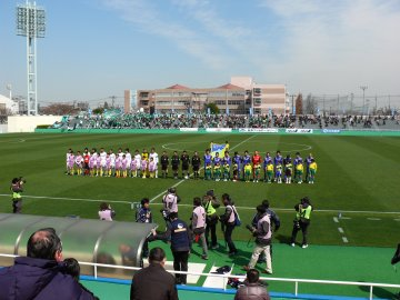 [JFL]横河武蔵野FC−松本山雅FC@西が丘