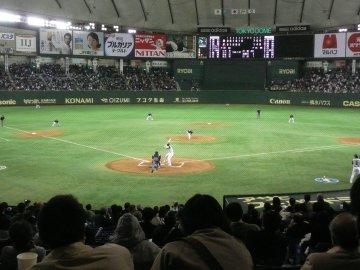 6回裏・岸田vs稲葉