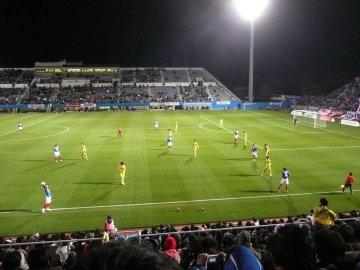 [ナビスコ杯]横浜F・マリノス−モンテディオ山形@ニッパ球