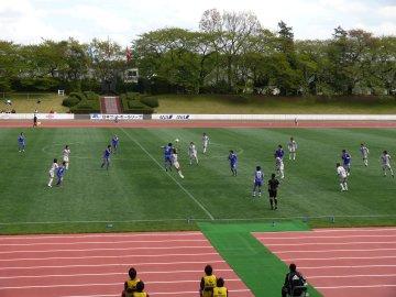[JFL]横河武蔵野FC−ホンダロック@武蔵野陸上