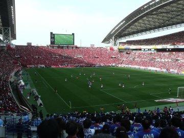 浦和レッズ−横浜F・マリノス@埼スタ