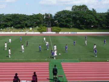 [JFL]横河武蔵野FC−ブラウブリッツ秋田@武蔵野陸上