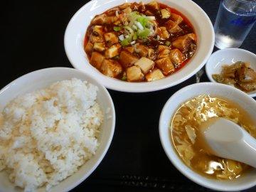 麻婆豆腐定食@600円