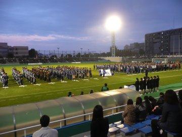 JR東日本カップ2010 第84回関東大学サッカーリーグ戦 閉会式