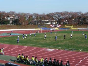 [JFL]横河武蔵野FC−栃木ウーヴァFC@武蔵野陸上