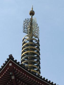 浅草寺五重塔(2011.3.20)