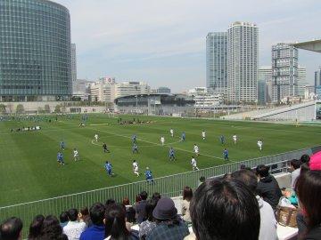 横浜F・マリノス−筑波大学@マリノスタウン
