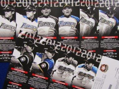 2012東京ドーム回数券